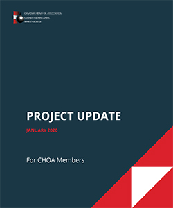CHOA Project Update January 2020
